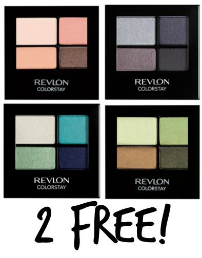 *HOT* 2 FREE Revlon ColorStay Eyeshadows with $2/1 Revlon Coupon!