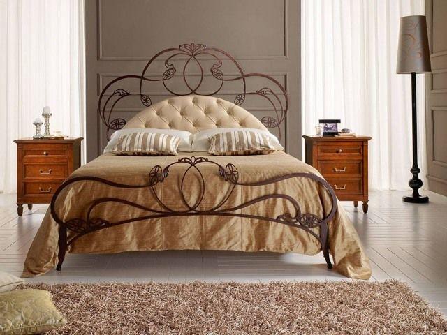 les 25 meilleures id es de la cat gorie t te de lit en fer. Black Bedroom Furniture Sets. Home Design Ideas