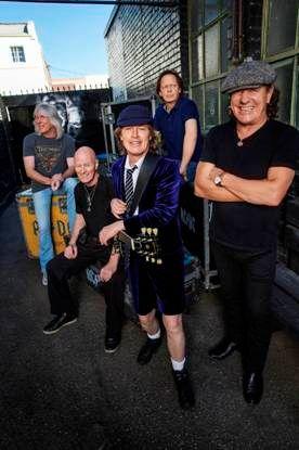 AC/DC anuncia su gira europea para 2016 con una fecha única en España, el 10 de mayo en Sevilla