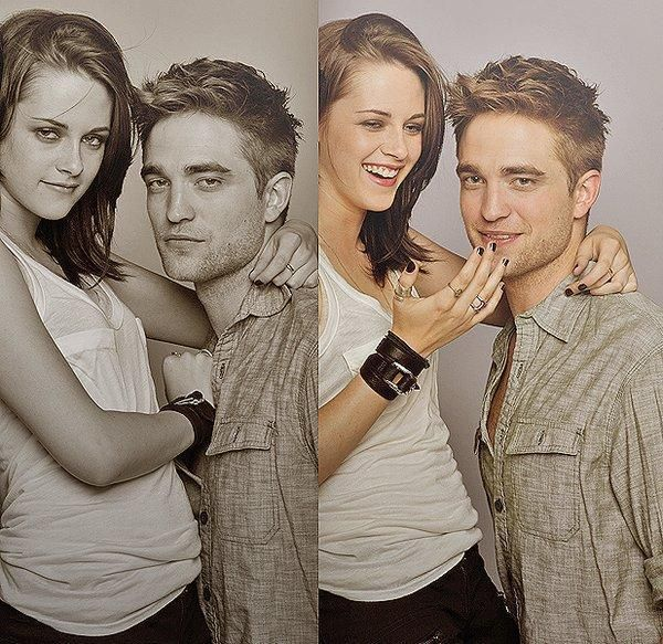 Robert Pattinson ❤ Kristen Stewart ❤