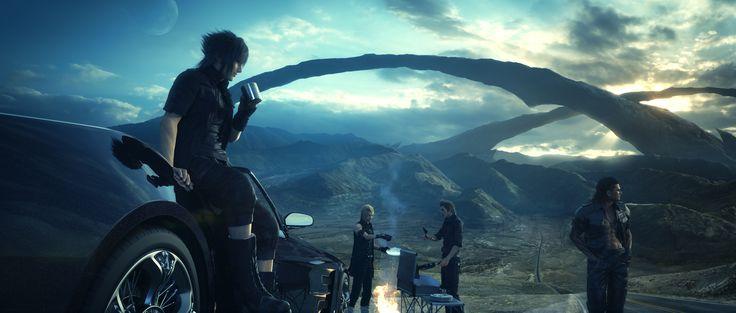 Videojuego - Final Fantasy XV  Fondo de Pantalla