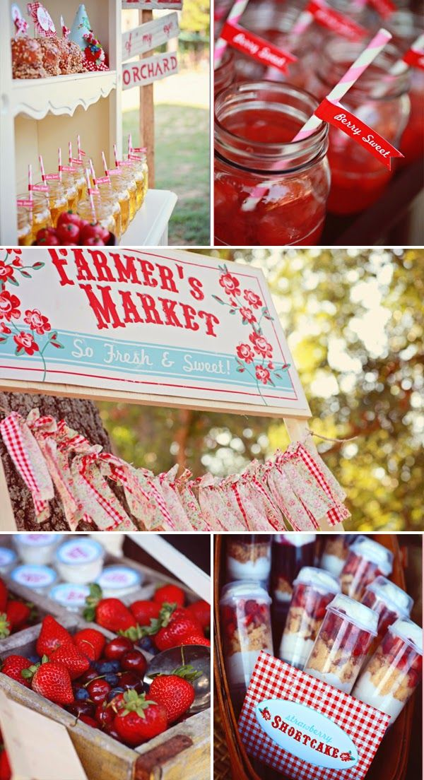 Farmer's Market First birthday theme party, or the hot Air balloon, or the balloon party..  oh I'm having trouble choosing
