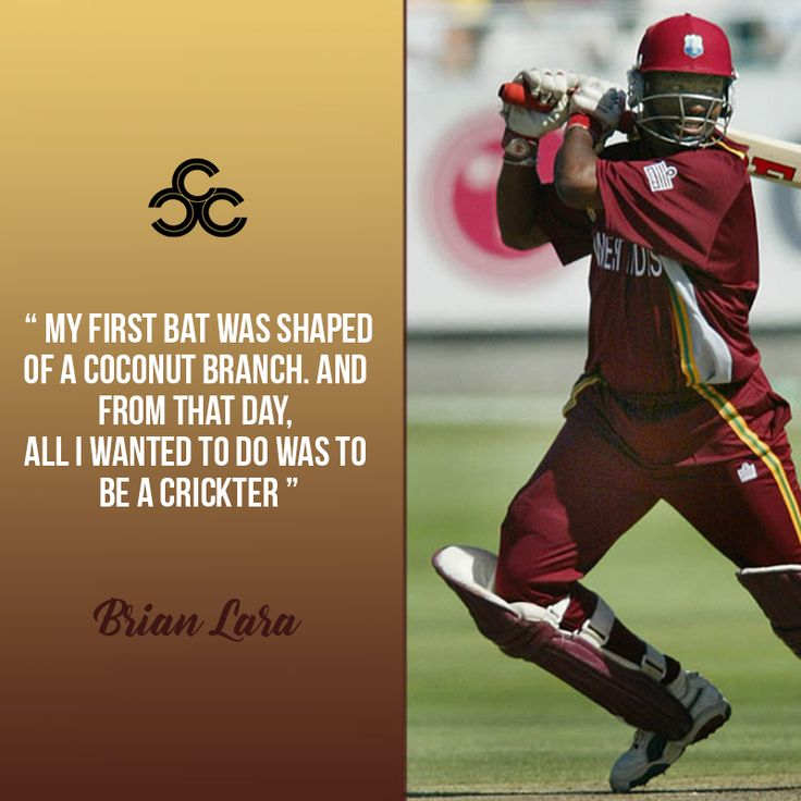 #Brian Charles Lara is a former #Trinidadian international cricket player. He is widely acknowledged as one of the greatest #batsmen of all time.   #cricket #cricketlover #ccc #customcricketcompany #customcricketproducts customcricketcompany.com