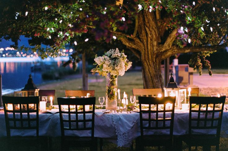 Beach Wedding Reception Table #BeachReception #BeachWedding