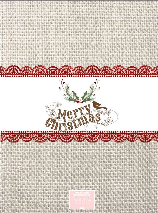Rustic burlap bird Chocolate wrapper printables by MillyBoo Designs