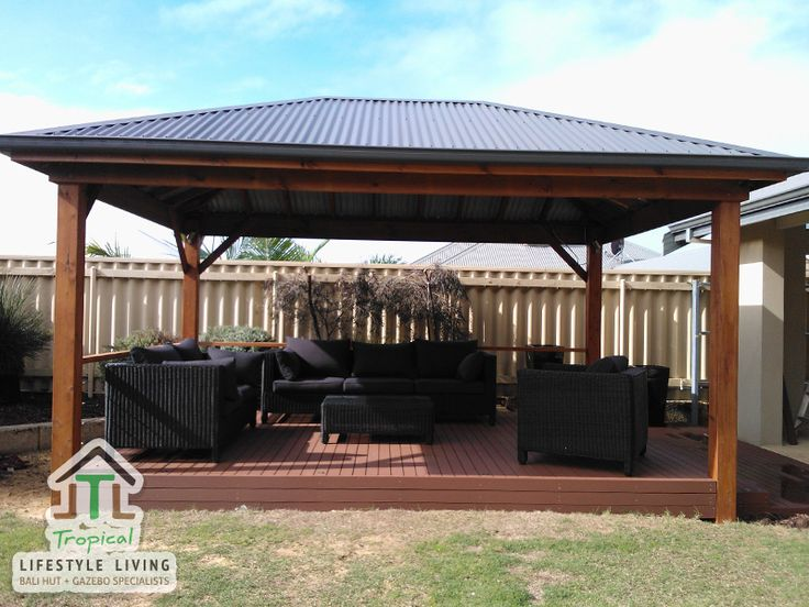 1000 gazebo ideas on pinterest pergola ideas decking ideas and deck - Pergola aluminium en kit ...