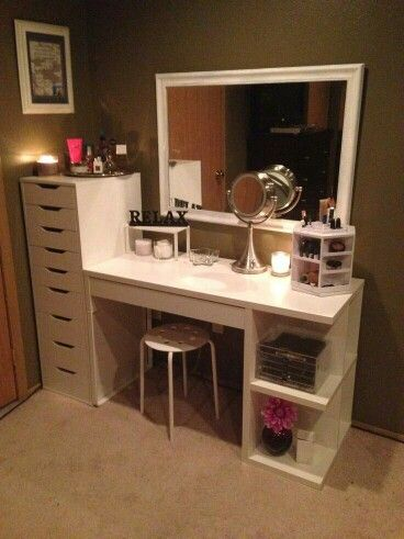 Love this homemade Vanity