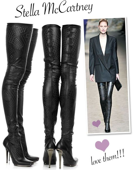 Stella McCartney, Over the knee Boots
