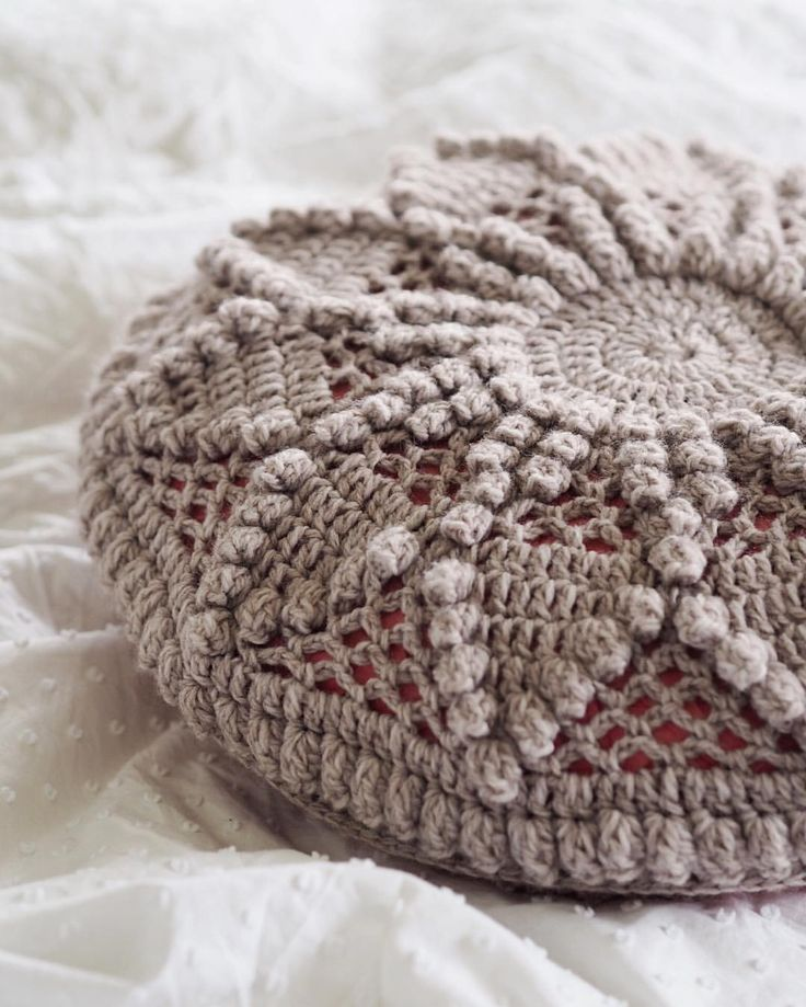 Crochet Bobble Cushion pattern from Woman's Weekly 'Best of Vintage Patterns'