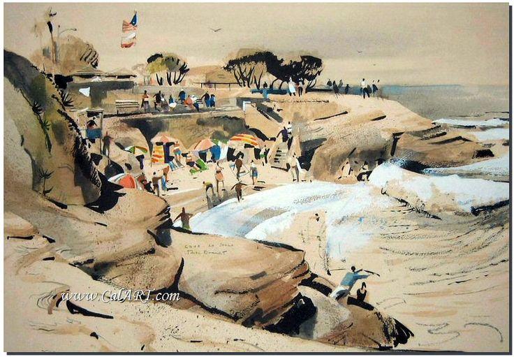 Rex Brandt -- California art