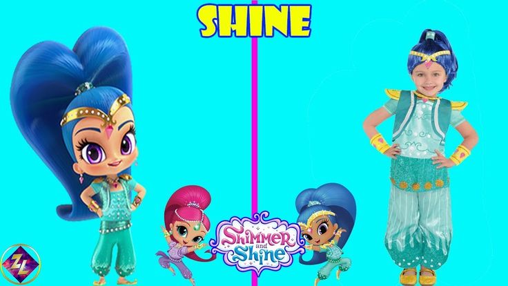 Shimmer and Shine Characters In Real Life!