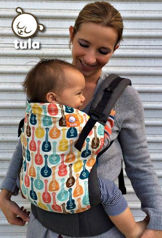 Canvas - Tula Release 'UKELELE' Tula Baby Carrier; released 21 February 2014