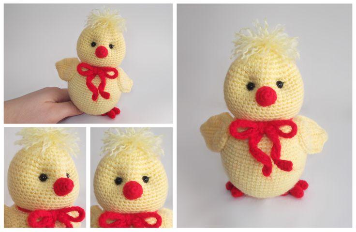Crochet Eyaster Chick
