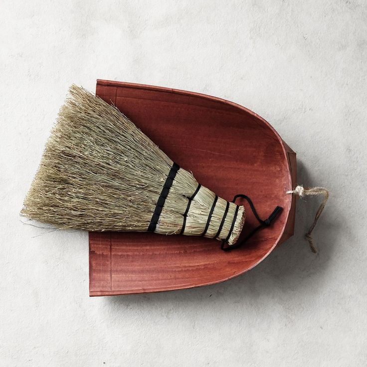 dustpan and brush - so handy!