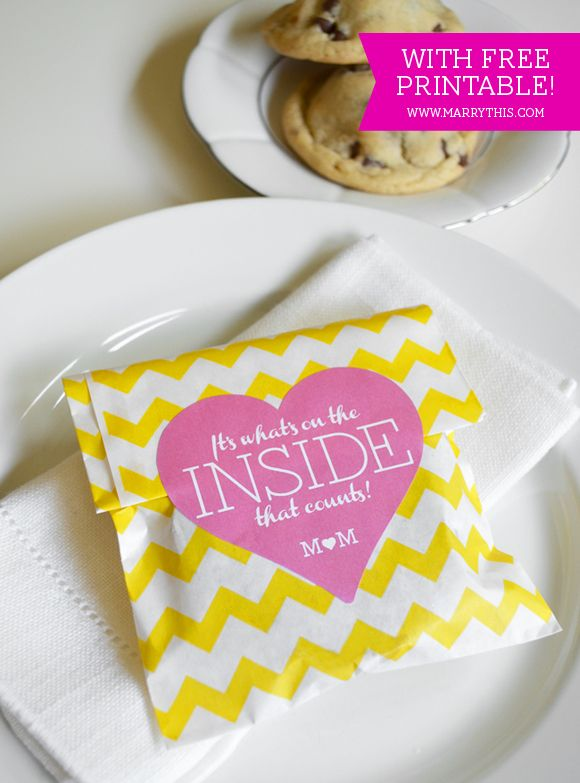 Oreo Stuffed Cookie Wedding Favor Free Printable