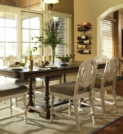 Fairmont designs east providence dining collection just in for Fairmont designs dining room