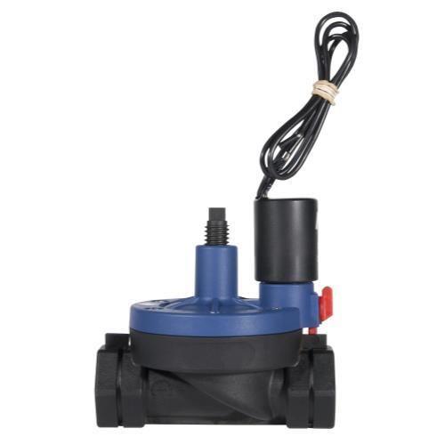 Hydro Flow NDJ Plastic Solenoid Valve 24V - 3/4 in Threaded w/ Flow Control (12/Cs)