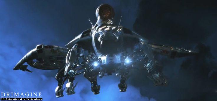 Jak Wam się podoba tak wizja statku kosmicznego? #AkademiaAnimacji3D #Drimagine #hard #ufo, #alien #spaceship #vehicle