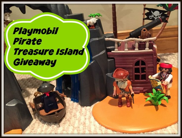 Playmobil Treasure Island Play set.