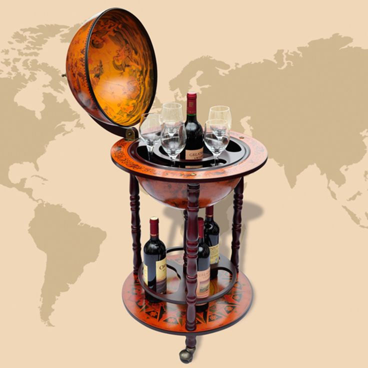 Buy best wood Globe Bar Wine Container from LovDock.com. Buy affordable and quality Wine Racks online, various discounts are waiting for youhttps://www.lovdock.com/p-60774uk.html?aid=C6624