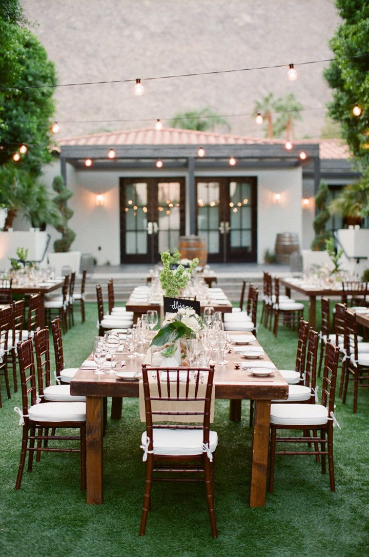 Sweet Palm Springs Wedding At The Viceroy from Lane Dittoe - wedding centerpiece