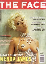 The Face. 1991. Wendy James.