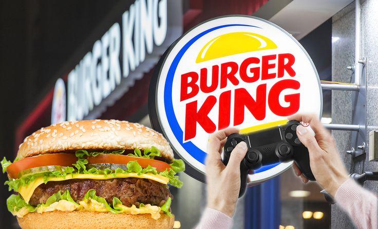 Zocker-Paradies: So kannst du über deine PS4 bei Burger King Essen bestellen!