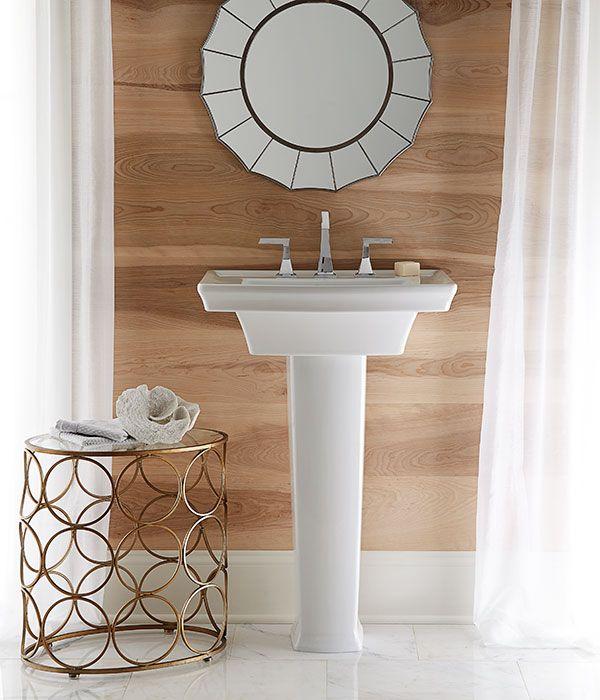 dxvu0027s modern pedestal sink wyatt collection pedestal standardin