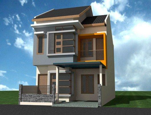 Image result for rumah tingkat minimalis