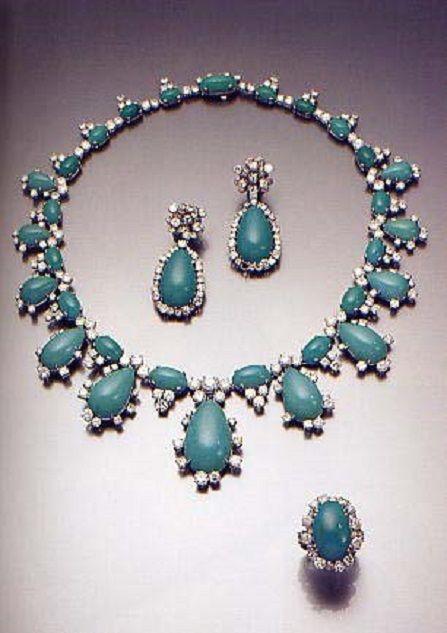 Les turquoises du Gotha - Noblesse & Royautés