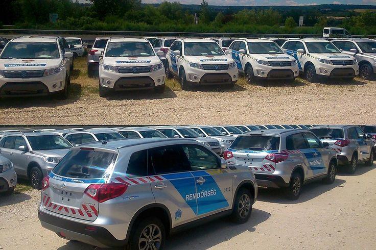 250 db új Suzuki Vitarával bővül a Rendőrség flottája
