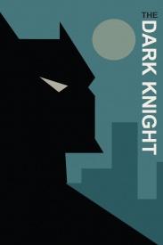 Batman Bust Comic Book Poster