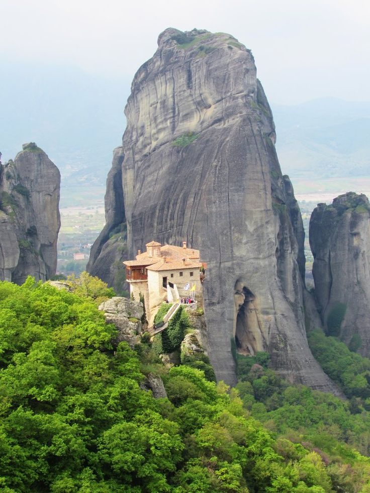 www.hostelmeteora.com Majestic Meteora – The Most Stunning Part Of Greece. Read all about this unique area, where monasteries are built perched on top of mountains. Plenty more photos to share inside the full article!