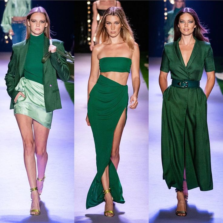 Brandon Maxwell Spring 2020 RTW . . . . . . #brandonmaxwell #couture #fashion ...