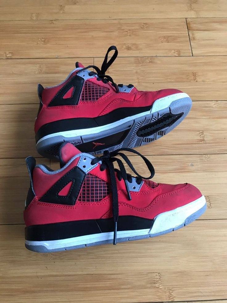 NIKE JORDAN 4 RETRO TORO CHICAGO BULLS PS 308499603 SIZE