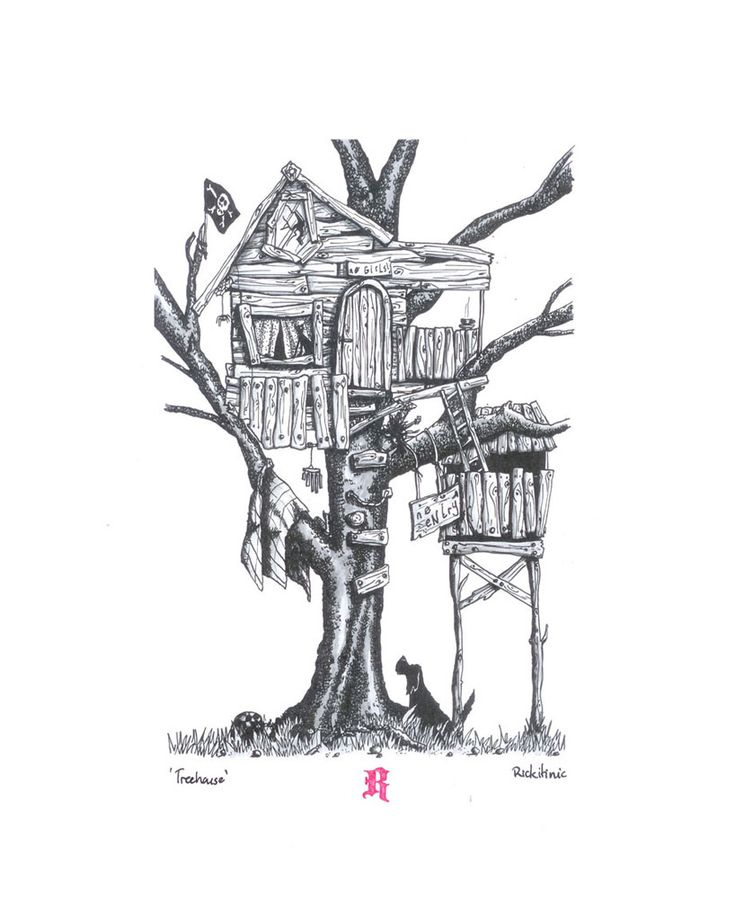 1000+ Images About Treehouse Art On Pinterest   Baba Yaga Blind Contour Drawing And Swiss ...