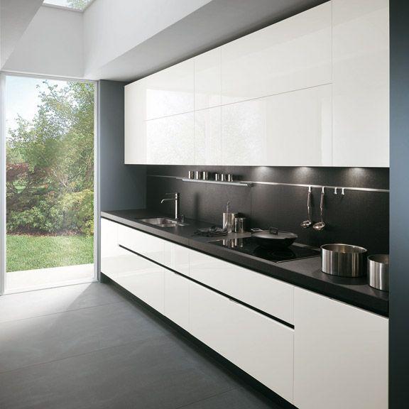 El blog de muebles sancar muebles de cocina sin tiradores for Cocinas sin muebles arriba