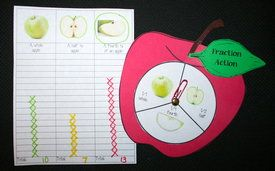 FREE apple spinner graphing game.