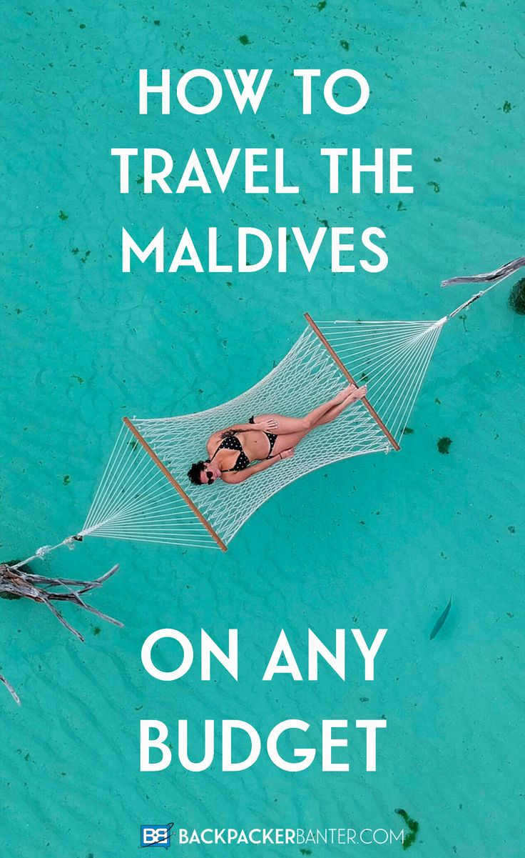 Think you have to be a millionaire to travel the Maldives? Think again! Whether you want 5* luxury or to travel the Maldives on a budget here's your complete guide - from accommodation and transport to food and activities! #Maldives Travel in the Maldives | Maldives on a Budget | Maldives Hotels | Maldives Islands