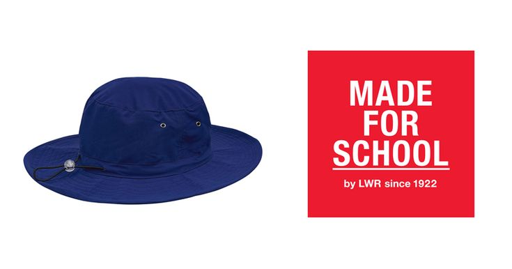 A hat for every day and any weather!  This hat repels water and stays in place with its easy to use crown cord and better yet it squashes perfectly into the school bag or pocket so it will never be no hat no play for your child.