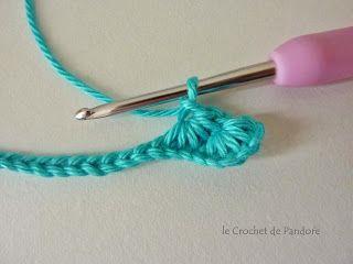 le Crochet de Pandore - Point étoile