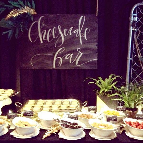 Cheesecake Bar Friday Night Parties At Alt Loverly Bebrightpink Davidsbridal