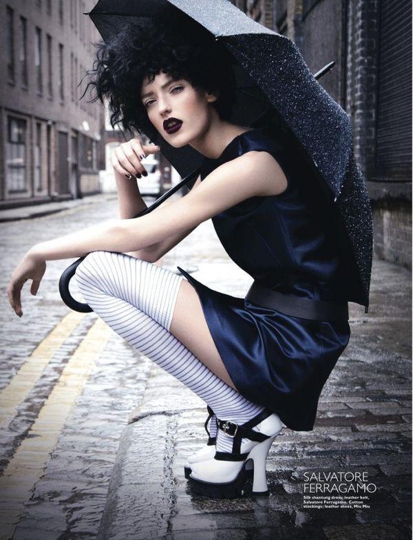 cool Rebellious Rainy Day Editorials by http://www.globalfashionista.xyz/fashion-poses/rebellious-rainy-day-editorials/