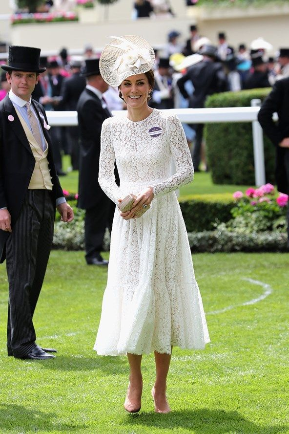 See all the pictures of the royal attendees, including the Queen and the Duchess of Cambridge, at Royal Ascot 2016