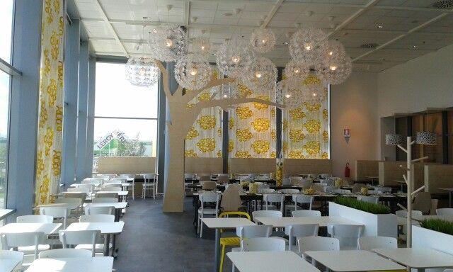 ikea restaurant naples, italy  new ikea restaurant naples, italy #tree #birch #socialize #table #maskros #restaurant #interiordesign #architecture #ID inspiration 55 vintage zinc