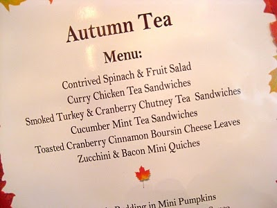 The Beehive Cottage: A Autumn Tea Party!