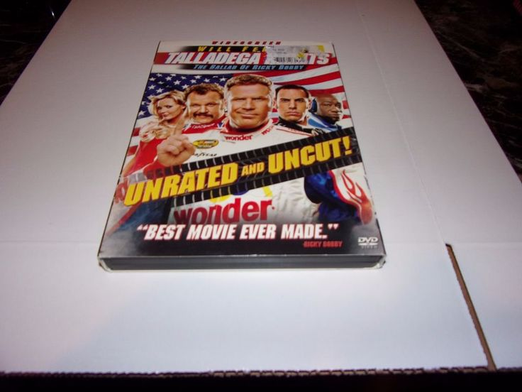 Talladega Nights: The Ballad of Ricky Bobby (DVD, 2006, Unrated Edition Widescre #Columbia