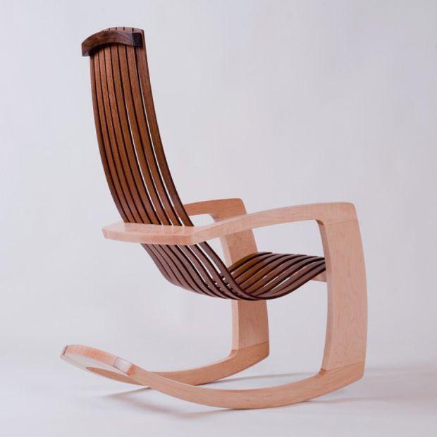 Modern Rocking Chair By J. Rusten