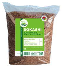 bokashi food waste recycling bran