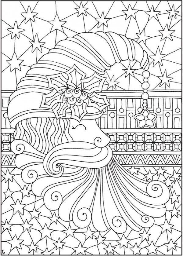 Entangled Christmas Coloring Pages Christmas Coloring Pages Coloring Pages Detailed Coloring Pages